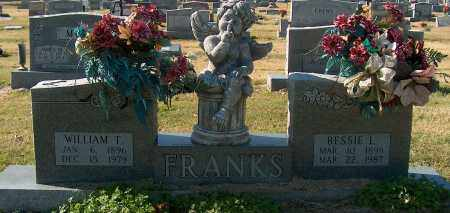 FRANKS, WILLIAM T - Mississippi County, Arkansas | WILLIAM T FRANKS - Arkansas Gravestone Photos