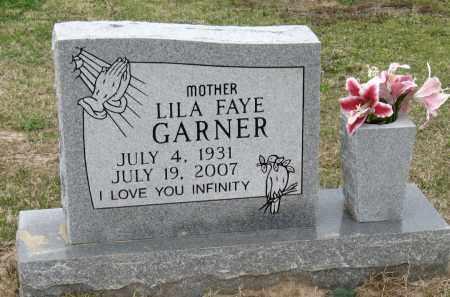 GARNER, LILA FAYE - Mississippi County, Arkansas | LILA FAYE GARNER - Arkansas Gravestone Photos