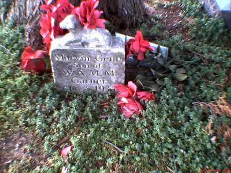 GARNER, MARVIN GENE - Mississippi County, Arkansas   MARVIN GENE GARNER - Arkansas Gravestone Photos