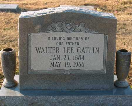GATLIN, WALTER LEE - Mississippi County, Arkansas | WALTER LEE GATLIN - Arkansas Gravestone Photos