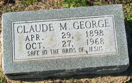 GEORGE, CLAUDE M - Mississippi County, Arkansas | CLAUDE M GEORGE - Arkansas Gravestone Photos