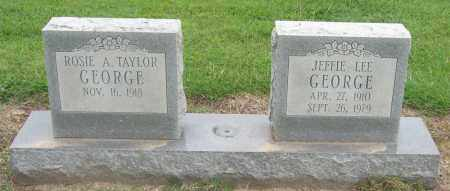 GEORGE, JEFFIE LEE - Mississippi County, Arkansas | JEFFIE LEE GEORGE - Arkansas Gravestone Photos