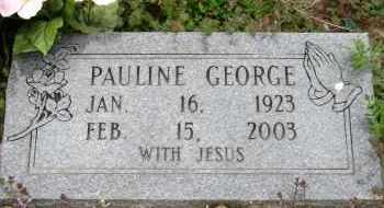 GEORGE, PAULINE - Mississippi County, Arkansas | PAULINE GEORGE - Arkansas Gravestone Photos