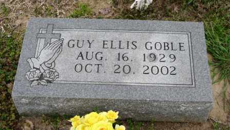 GOBLE, GUY ELLIS - Mississippi County, Arkansas | GUY ELLIS GOBLE - Arkansas Gravestone Photos