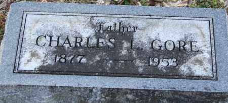 GORE, CHARLES L. - Mississippi County, Arkansas | CHARLES L. GORE - Arkansas Gravestone Photos