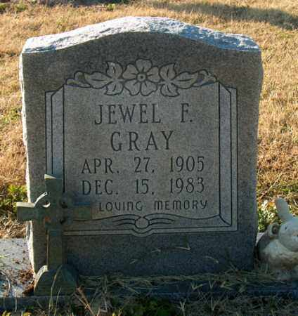 GRAY, JEWEL F - Mississippi County, Arkansas | JEWEL F GRAY - Arkansas Gravestone Photos