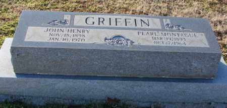 GRIFFIN, JOHN HENRY - Mississippi County, Arkansas | JOHN HENRY GRIFFIN - Arkansas Gravestone Photos