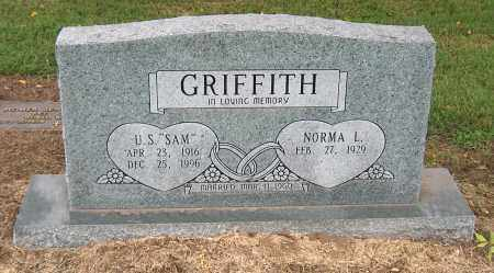 "GRIFFITH, U. S. ""SAM"" - Mississippi County, Arkansas 