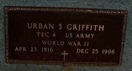 GRIFFITH (VETERAN WWII), URBAN S - Mississippi County, Arkansas | URBAN S GRIFFITH (VETERAN WWII) - Arkansas Gravestone Photos