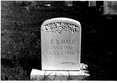 HALE, FRANKLIN BIRD - Mississippi County, Arkansas | FRANKLIN BIRD HALE - Arkansas Gravestone Photos
