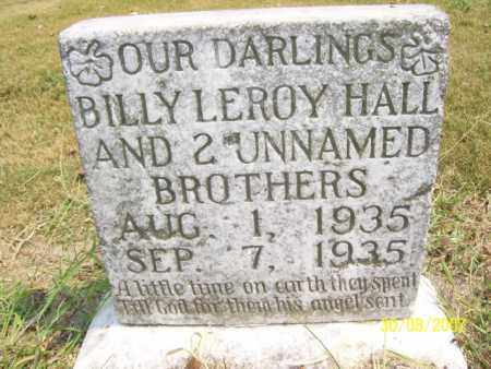HALL, BILLY LEROY - Mississippi County, Arkansas | BILLY LEROY HALL - Arkansas Gravestone Photos