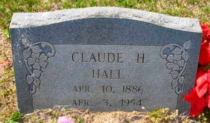HALL, CLAUDE H - Mississippi County, Arkansas | CLAUDE H HALL - Arkansas Gravestone Photos