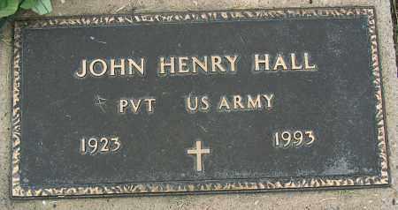 HALL (VETERAN), JOHN HENRY - Mississippi County, Arkansas | JOHN HENRY HALL (VETERAN) - Arkansas Gravestone Photos