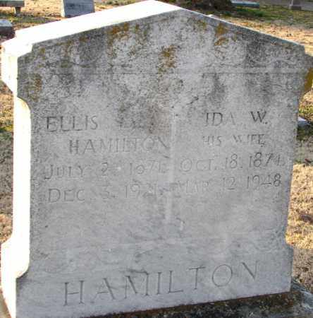 HAMILTON, ELLIS - Mississippi County, Arkansas | ELLIS HAMILTON - Arkansas Gravestone Photos