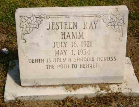 HAMM, JESTEEN RAY - Mississippi County, Arkansas | JESTEEN RAY HAMM - Arkansas Gravestone Photos