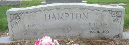 HAMPTON, CHARLES E - Mississippi County, Arkansas | CHARLES E HAMPTON - Arkansas Gravestone Photos