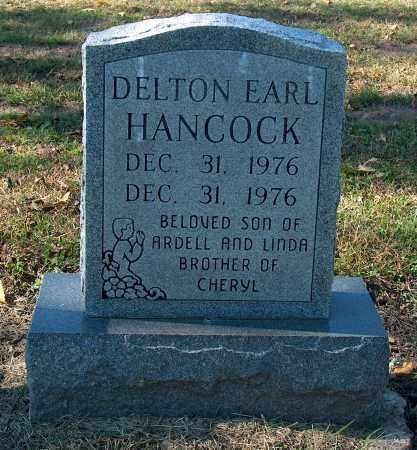 HANCOCK, DELTON EARL - Mississippi County, Arkansas | DELTON EARL HANCOCK - Arkansas Gravestone Photos