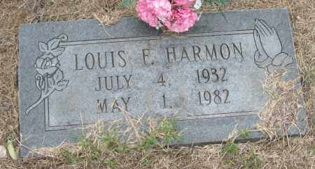 HARMON, LOUIS F - Mississippi County, Arkansas | LOUIS F HARMON - Arkansas Gravestone Photos