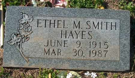 SMITH HAYES, ETHEL M - Mississippi County, Arkansas | ETHEL M SMITH HAYES - Arkansas Gravestone Photos