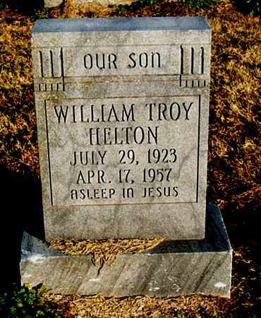 HELTON, WILLIAM TROY - Mississippi County, Arkansas | WILLIAM TROY HELTON - Arkansas Gravestone Photos