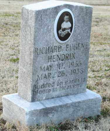 HENDRIX, RICHARD EUGENE - Mississippi County, Arkansas | RICHARD EUGENE HENDRIX - Arkansas Gravestone Photos