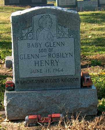 HENRY, BABY GLENN - Mississippi County, Arkansas | BABY GLENN HENRY - Arkansas Gravestone Photos