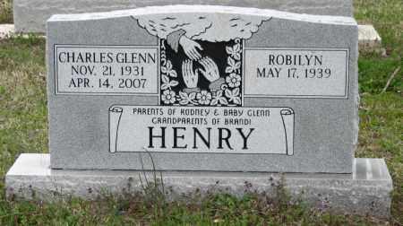 HENRY, CHARLES GLENN - Mississippi County, Arkansas | CHARLES GLENN HENRY - Arkansas Gravestone Photos