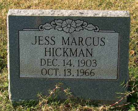 HICKMAN, JESS MARCUS - Mississippi County, Arkansas | JESS MARCUS HICKMAN - Arkansas Gravestone Photos