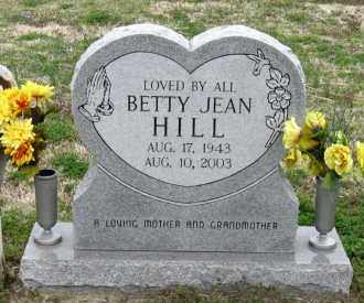 HILL, BETTY JEAN - Mississippi County, Arkansas | BETTY JEAN HILL - Arkansas Gravestone Photos