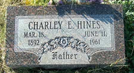 HINES, CHARLEY E - Mississippi County, Arkansas | CHARLEY E HINES - Arkansas Gravestone Photos
