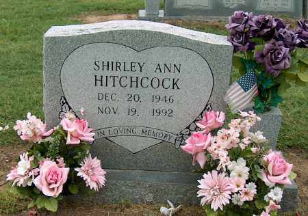 HITCHCOCK, SHIRLEY ANN - Mississippi County, Arkansas | SHIRLEY ANN HITCHCOCK - Arkansas Gravestone Photos