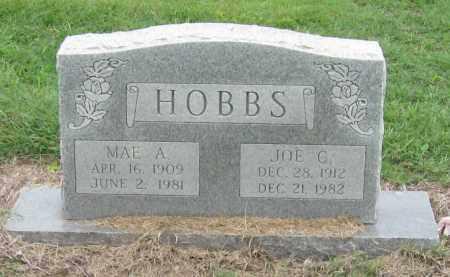 HOBBS, JOE C - Mississippi County, Arkansas | JOE C HOBBS - Arkansas Gravestone Photos