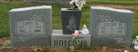 HOLCOMB, LONIE B - Mississippi County, Arkansas | LONIE B HOLCOMB - Arkansas Gravestone Photos