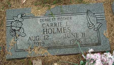 HOLMES, CARRIE L - Mississippi County, Arkansas | CARRIE L HOLMES - Arkansas Gravestone Photos