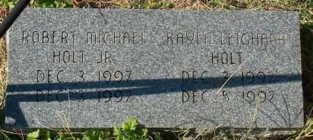 HOLT, JR, ROBERT MICHAEL - Mississippi County, Arkansas | ROBERT MICHAEL HOLT, JR - Arkansas Gravestone Photos