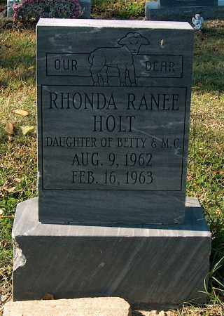 HOLT, RHONDA RANEE - Mississippi County, Arkansas | RHONDA RANEE HOLT - Arkansas Gravestone Photos