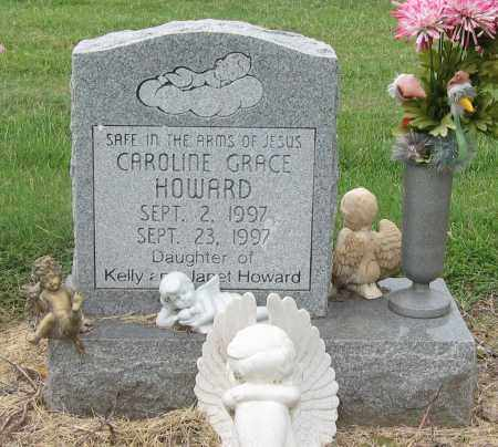 HOWARD, CAROLINE GRACE - Mississippi County, Arkansas | CAROLINE GRACE HOWARD - Arkansas Gravestone Photos