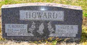 HOWARD, H MONROE - Mississippi County, Arkansas | H MONROE HOWARD - Arkansas Gravestone Photos