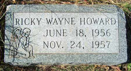 HOWARD, RICKY WAYNE - Mississippi County, Arkansas | RICKY WAYNE HOWARD - Arkansas Gravestone Photos