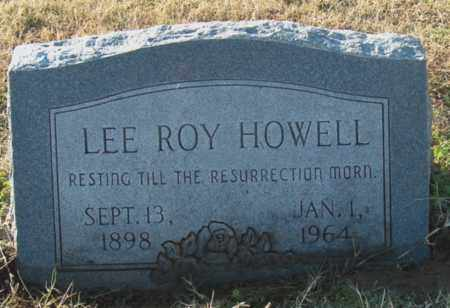 HOWELL, LEE ROY - Mississippi County, Arkansas | LEE ROY HOWELL - Arkansas Gravestone Photos