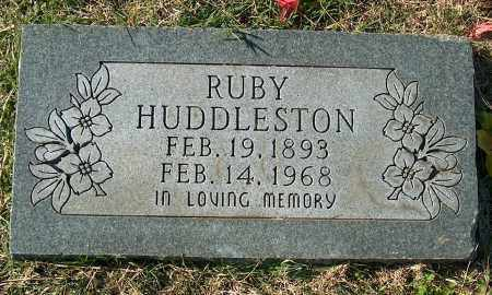 HUDDLESTON, RUBY - Mississippi County, Arkansas | RUBY HUDDLESTON - Arkansas Gravestone Photos
