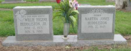 HUDDLESTON, WILLIE EUGENE, JR. - Mississippi County, Arkansas   WILLIE EUGENE, JR. HUDDLESTON - Arkansas Gravestone Photos