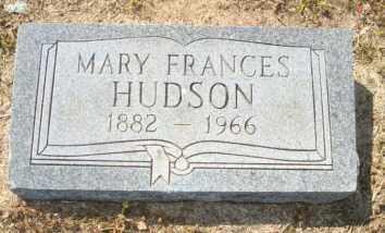 HUDSON, MARY FRANCES - Mississippi County, Arkansas | MARY FRANCES HUDSON - Arkansas Gravestone Photos