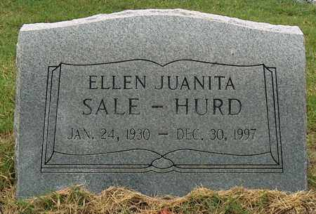 SALE HURD, ELLEN JUANITA - Mississippi County, Arkansas | ELLEN JUANITA SALE HURD - Arkansas Gravestone Photos