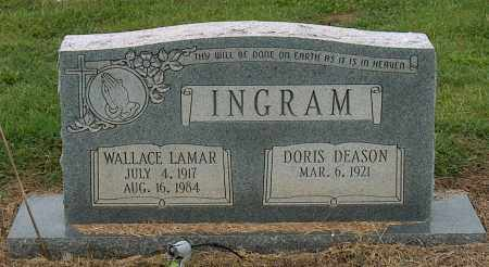 INGRAM, WALLACE LAMAR - Mississippi County, Arkansas | WALLACE LAMAR INGRAM - Arkansas Gravestone Photos