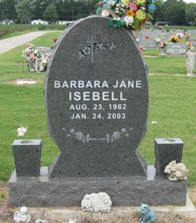 ISEBELL, BARBARA JANE - Mississippi County, Arkansas | BARBARA JANE ISEBELL - Arkansas Gravestone Photos