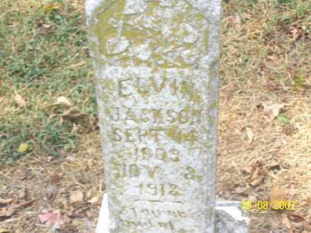 JACKSON, ELVIN - Mississippi County, Arkansas | ELVIN JACKSON - Arkansas Gravestone Photos