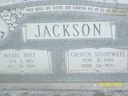 JACKSON, MABEL INEZ - Mississippi County, Arkansas | MABEL INEZ JACKSON - Arkansas Gravestone Photos