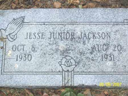 JACKSON, JESSE JUNIOR - Mississippi County, Arkansas | JESSE JUNIOR JACKSON - Arkansas Gravestone Photos
