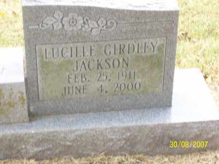 GIRDLEY JACKSON, LUCILLE - Mississippi County, Arkansas | LUCILLE GIRDLEY JACKSON - Arkansas Gravestone Photos
